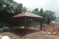 Gazebo With Shingles